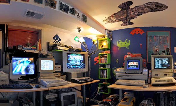 Blake Patterson's Byte Cellar the ultimate man cave for aspiring geeks 