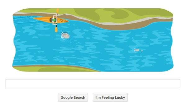 DNP Hit the rapids with Google's latest Olympic doodle