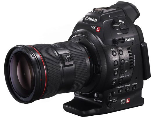 Canon announces EOS C100 cinema camera, confirms shipping for the C500