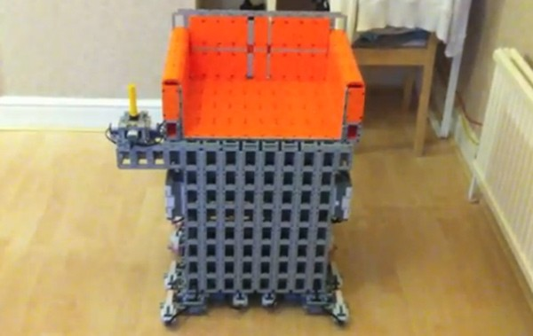 Lego motorized wheelchair joins Mindstorms NXT alumni (video)