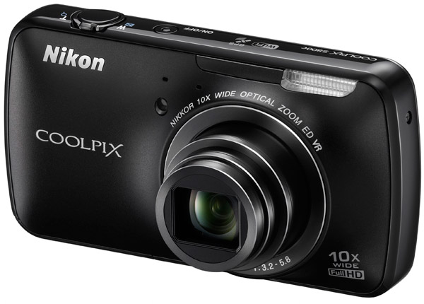 Coolpix S800c: an Android-powered point-and-shoot camera for $350