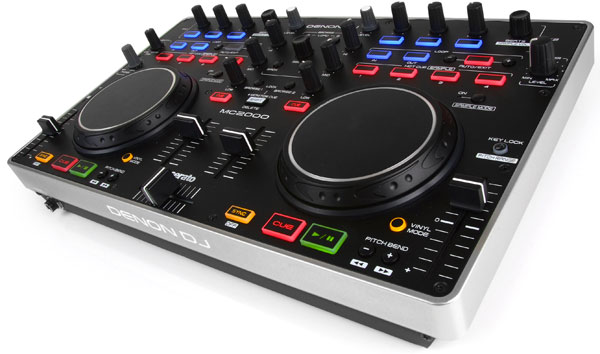 Denon launches MC2000 DJ controller, invites prospective spinners to 'own the party'