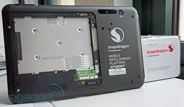 Engadget Giveaway win a Qualcomm Snapdragon S4 Development Tablet!