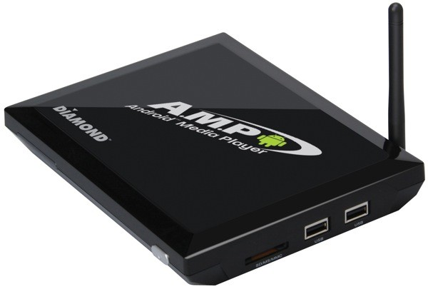 Diamond Multimedia outs AMP1000 Android set-top box: Gingerbread-based, 1080p, sells for $120