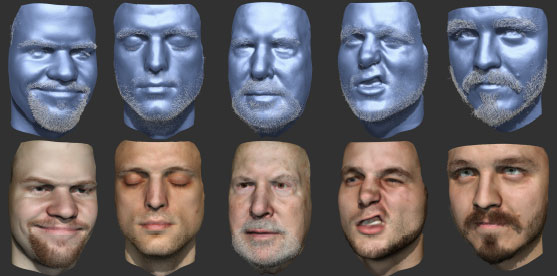 Disney researchers can now digitally shave your face, clone it for animatronics video