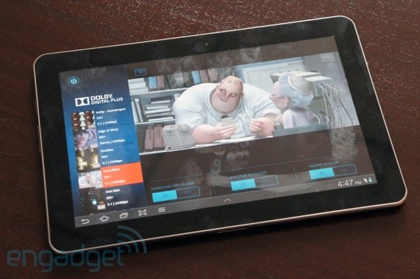 Dolby Digital Plus coming soon to tablets, we go earson video