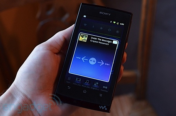 How would you change the Sony Z Series Walkman