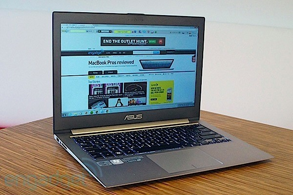 DNP  ASUS Zenbook Prime UX31A an Ultrabook with a topnotch display