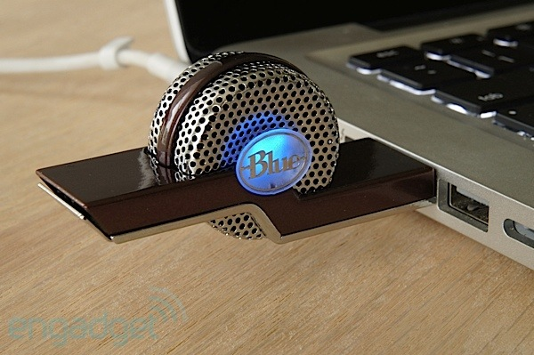Blue Microphones Tiki compact USB microphone a thumbdrivesized unit for mobile recording sessions