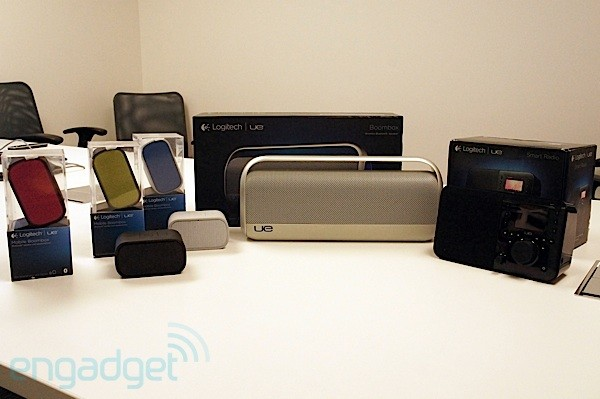 Logitech's UE Smart Radio, Boombox, and Mobile Boombox give you wireless audio on the go