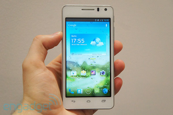 Huawei Ascend G600 announced: 4.5-inch qHD screen, dual-core processor