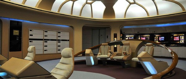 Star Trek fans rescue EnterpriseD bridge, plan to restore it to former glory