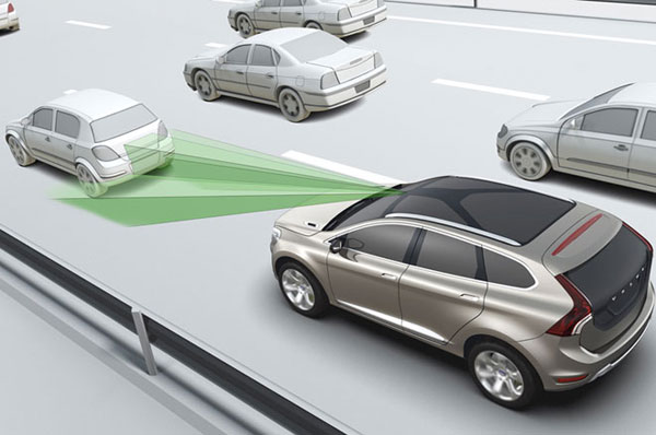 New EU legislation requires cars to include autonymous braking system