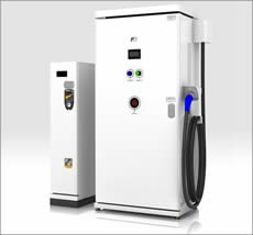 DNP Fuji Electric releasing first coinoperated EV fast charger, gives electric cars extra life