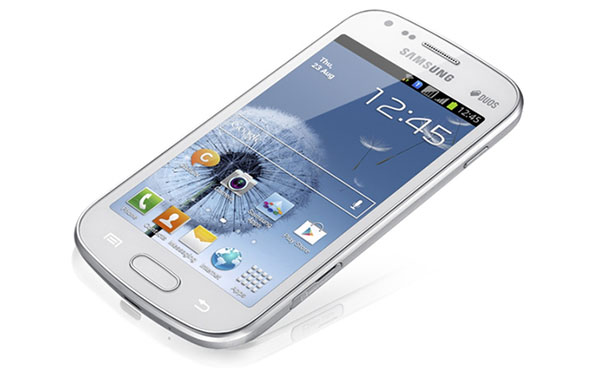 Samsung Galaxy S Duos juggles two SIMs, looks like one of the other phones