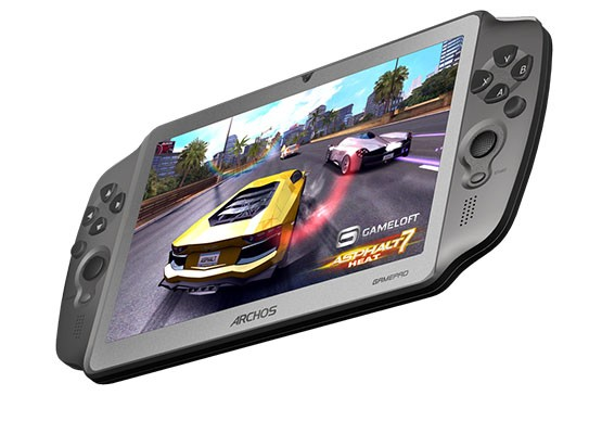 DNP EMBARGO  Archos unveils ICSrunning GamePad with physical controls