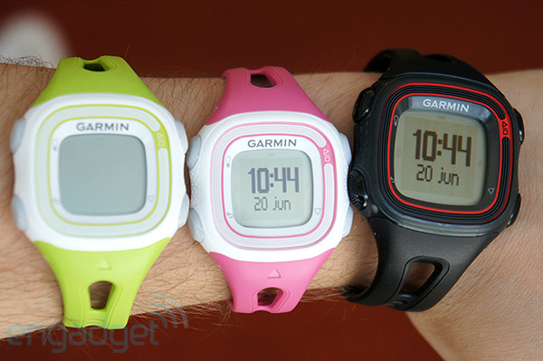 Garmin Forerunner 10 is a GPS watch designed for outdoor fitness, we go handson