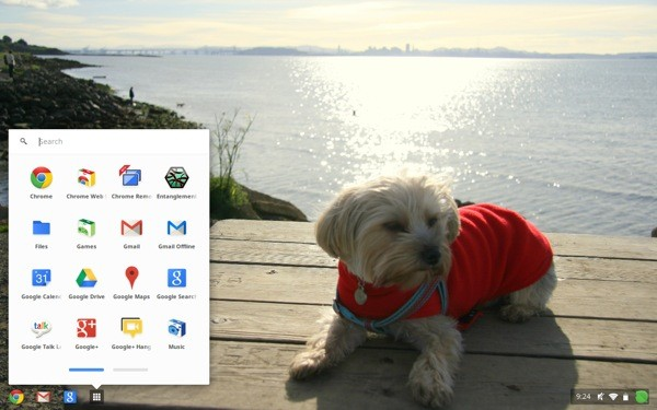 Chrome OS update revamps app list and Google Drive, allows relentessly adorable custom wallpapers