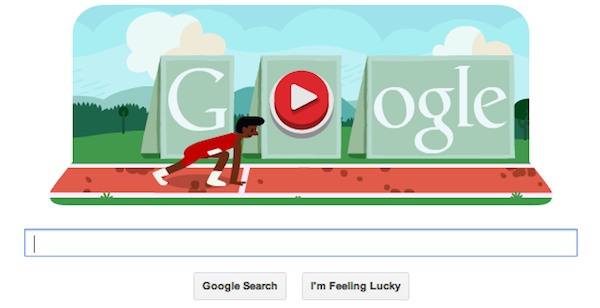 Google's Olympic doodles get interactive with buttonmashing hurdles