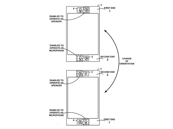 Googles smartphone patent doesnt mind which end you talk into 