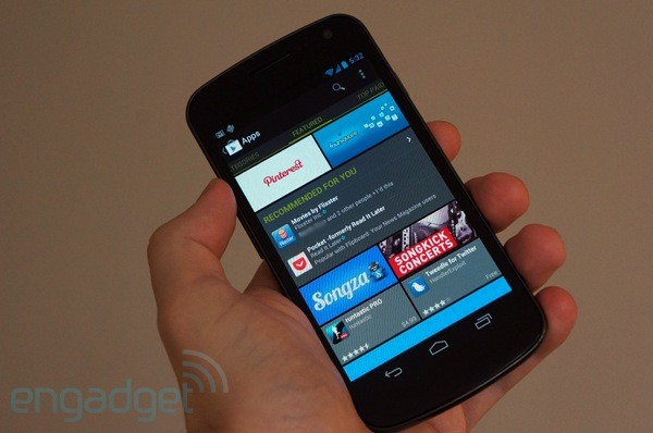 Google Play starts recommending content on Android devices, keeps the downloads flowing