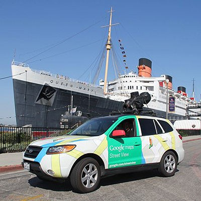 DNP Google Street View cams peak inside Queen Mary's staterooms