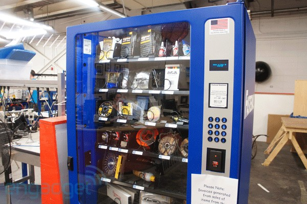 Visualized: industrial vending machines are a modder&#8217;s best friend