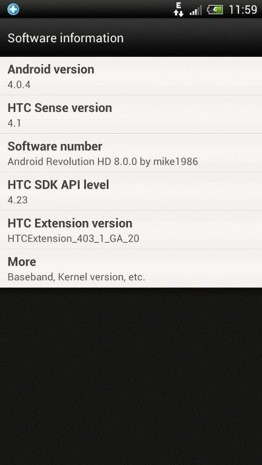 HTC Sense 41 reportedly leaked with custom ROM, One X owners taste the future