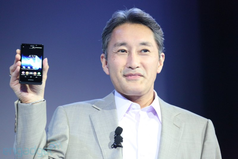 Sony Xperia T unveiled at IFA 2012