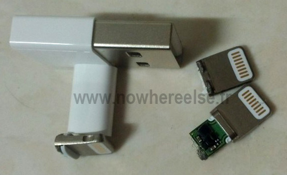 Next iPhone's tiny docking cable possibly seen, might help complete the puzzle