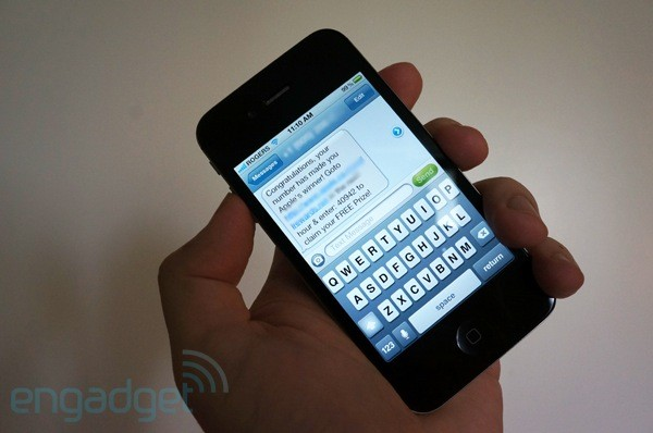 iPhone reportedly vulnerable to text message spoofing flaw