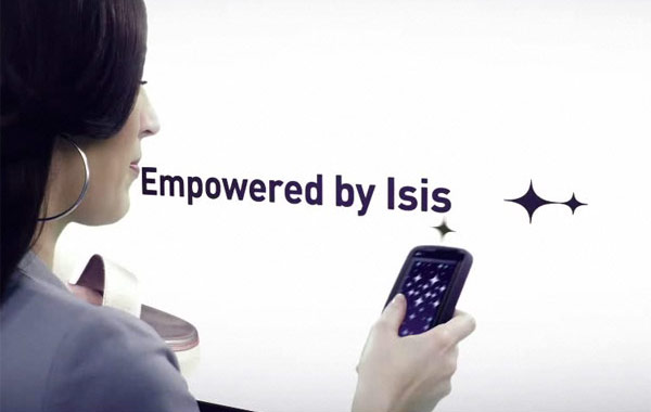 Isis NFC mobile payment video