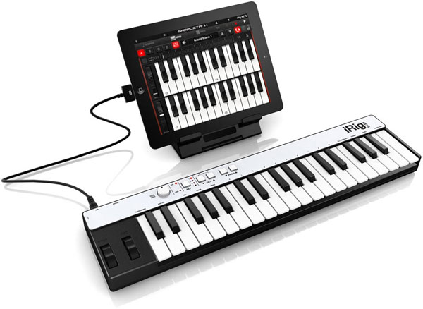 IK Multimedia announces iRig KEYS