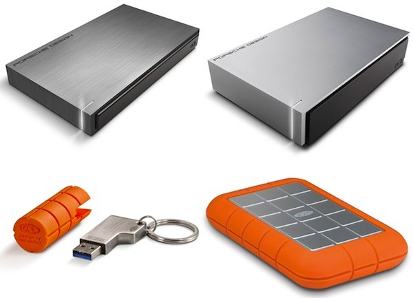 LaCie reveals new Macfriendly USB 30 external drives