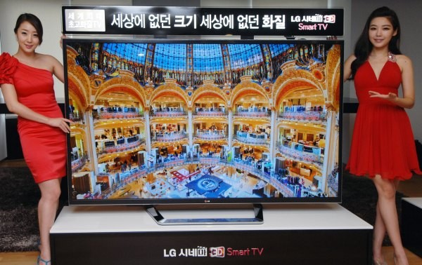 4K, 84inch 'ultra' HDTV from LG is ready to start shipping, if you're in Korea and can spare $22,000