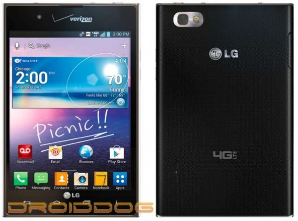 LG Intuition spied in press shots, leaves just one piece of the puzzle left