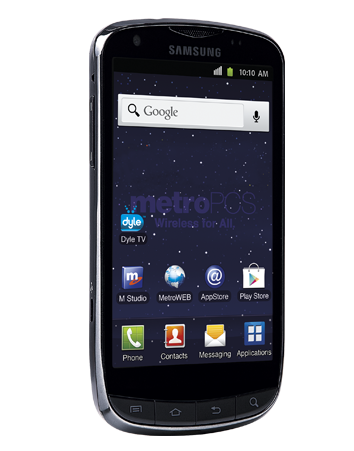 MetroPCS outs Samsung Galaxy S Lightray 4G 43inch Super AMOLED, LTE and Dyle Mobile TV on board