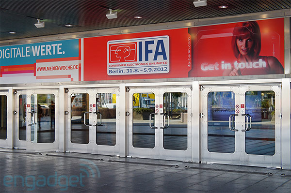 We're live from IFA 2012 in Berlin!
