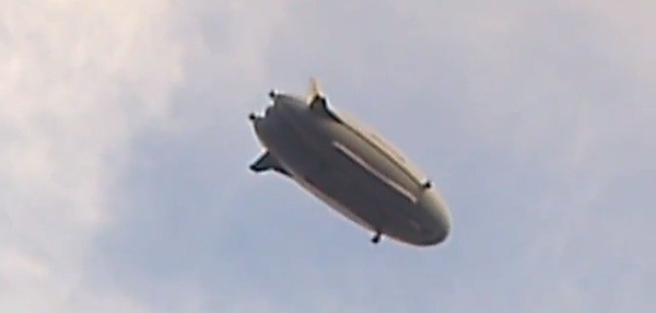 US Army's LEMV spy blimp spotted hovering over New Jersey, may take up cargo duties video