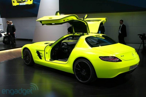 MercedesBenz said to be exploring SLS ECell in roadster guise