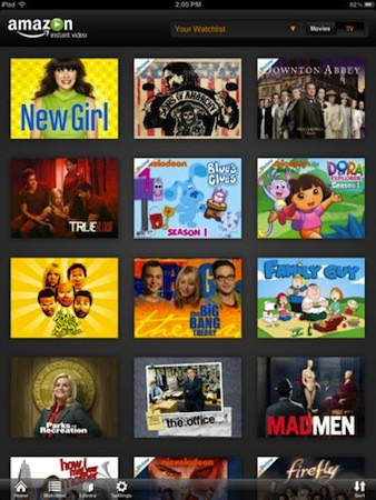 Amazon Instant Video iPad app now available, iPhone and iPod Touch are left wanting