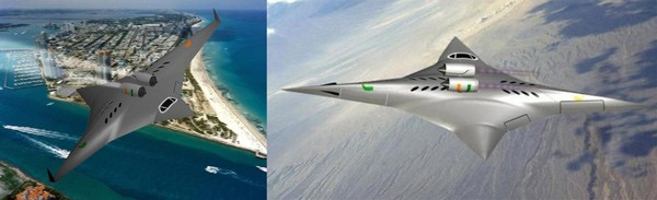 NASA awards $  100,000 grant for sideways supersonic plane concept, sonic boom not included