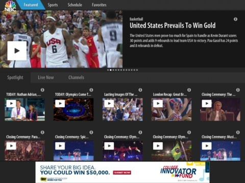 NBC rebands Olympics app as Sports Live Extra, promises live streams for a wider athletic universe