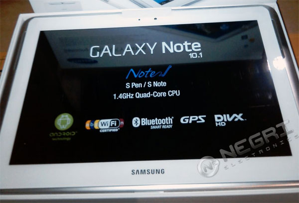 Samsung Galaxy Note pops up for preorder on Negri with Quad Core Exynos, ships tomorrow