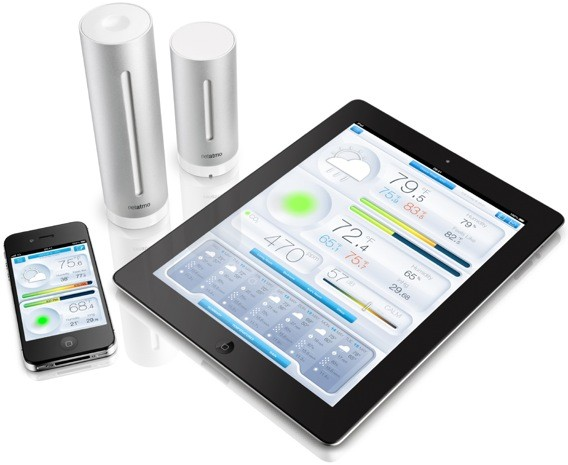Netatmo Urban Weather Station tells Android, iOS users when it's safe to venture outside video