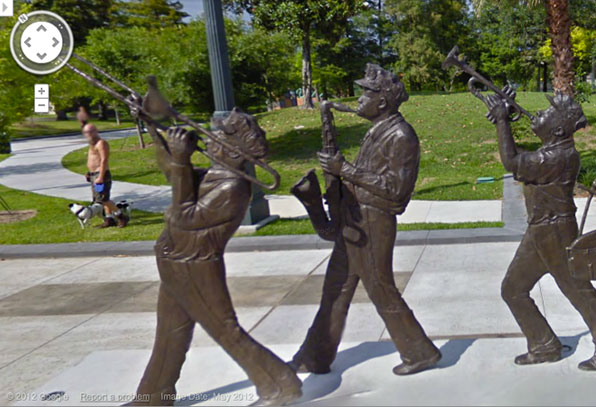 Google Maps updates street view for New Orleans, shows us the jazz plays on