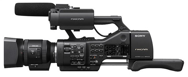 Sony unveils NEXEA50EH pro camcorder with nary a dog or pony video