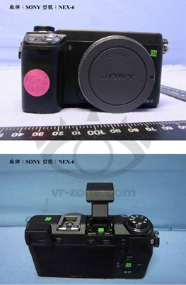 Sony NEX5R and NEX6 allegedly get pictured, flaunt WiFi logos