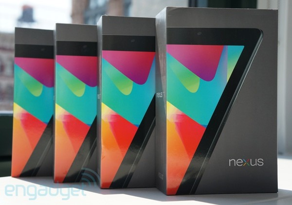 Engadget Giveaway win one of four Nexus 7 tablets, courtesy of NVIDIA!