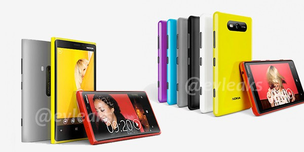 Purported Nokia Lumia 820, 920 Pureview pics arrive on Twitter